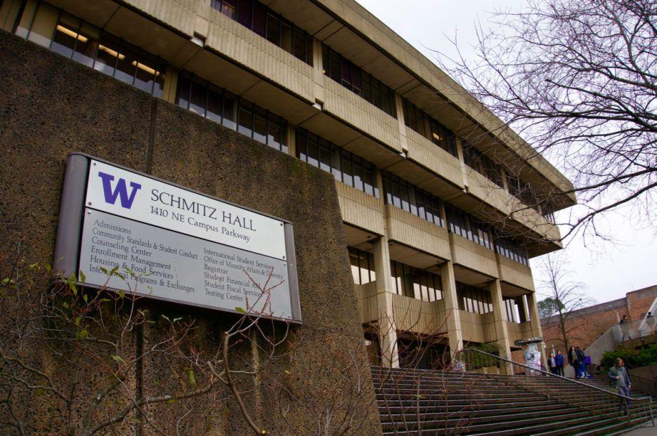 UW's Schmitz Hall